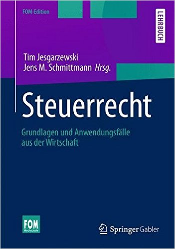 Autor in Jesgarzewski/Schmittmann: Steuerrecht